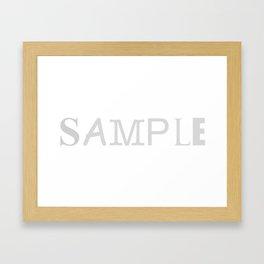 Sample Framed Art Print