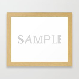 Sample Framed Art Print