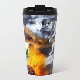 Hati and Skoll Travel Mug