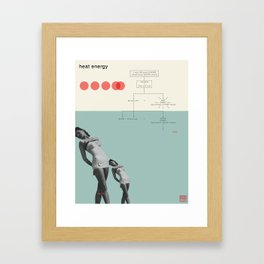 Heat Energy Framed Art Print