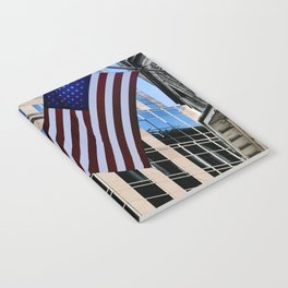 USA Flag Notebook