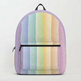 Rainbow Pastel Pattern Backpack