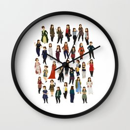 Every Clara Outfit Ever | S8 Wall Clock