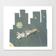 Planetary Shifters Canvas Print