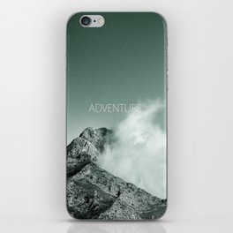 """Adventure at the mountain"" iPhone Skin"