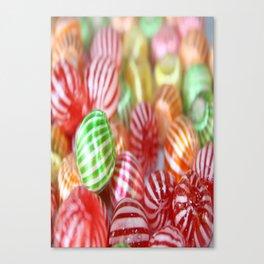 Sugar Candy Confectionary Canvas Print