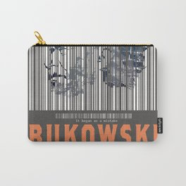 Bukowski (Barcode)- It Began as a Mistake Carry-All Pouch