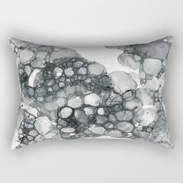 Ink Bubbles Rectangular Pillow
