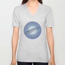 The holographic principle Unisex V-Neck