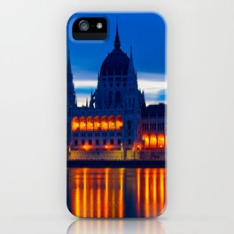 The Beautiful Budapest Parliament Building iPhone Case
