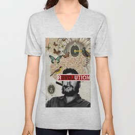 Public Figures Collection - Che Guevara Unisex V-Neck