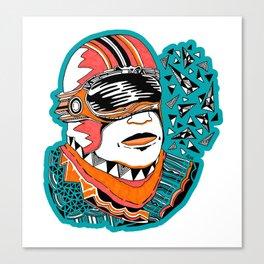 Visor Guy Canvas Print