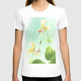 pelargonium mollicomum- pineapple scented leaf T-shirt