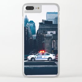 NYPD Clear iPhone Case