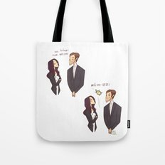 One Holmes, one Watson, ONE CLYDE Tote Bag