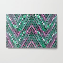 Knotty Plank Texture 3 Metal Print