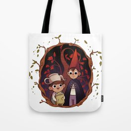 Over the garden wall Tote Bag