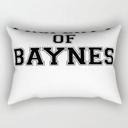 Property of BAYNES Rectangular Pillow