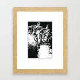 Princess & Ba Framed Art Print
