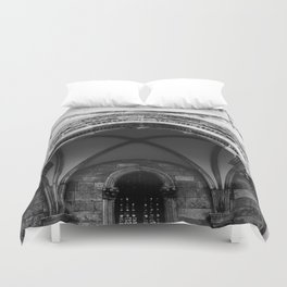 Croatian Columns Duvet Cover