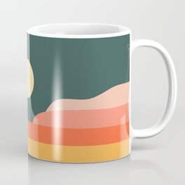 Geometric Landscape 14 Coffee Mug