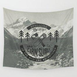 CABIN SUPPLY - weekend adventurer Wall Tapestry