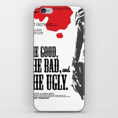 The Good, The Bad and The Ugly iPhone & iPod Skin
