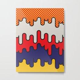 Lichtenstein Metal Print