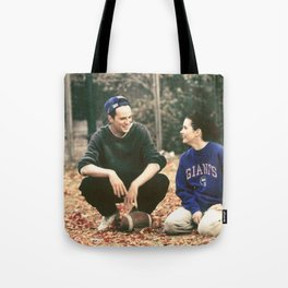 Chandler Bing & Monica Geller; Friends Tote Bag