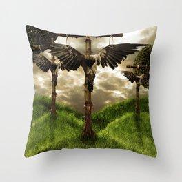 Resurrection Failed Throw Pillow