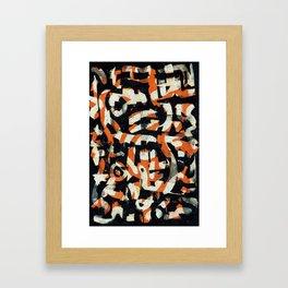 Pattern № 99 Framed Art Print