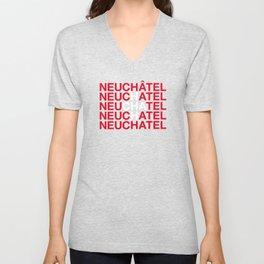 NEUCHATEL Unisex V-Neck