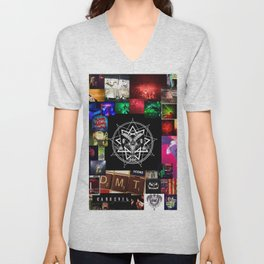 DMT TIME 2.0 Unisex V-Neck