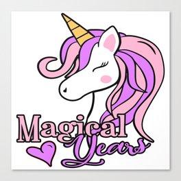 MAGICAL YEARS Canvas Print