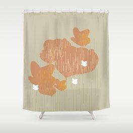 Spring Season Shower Curtain