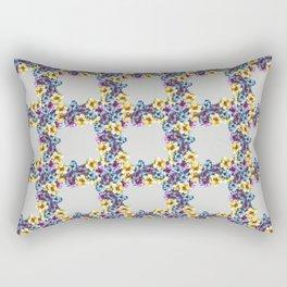 BALI0 BLUE pat.0 sm Rectangular Pillow