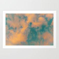 Summer sky Art Print
