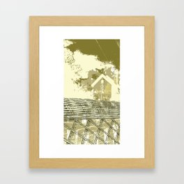 shine Framed Art Print