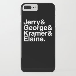Seinfeld Jetset iPhone Case