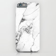 White Marble I Slim Case iPhone 6