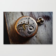 The Conductor's Timepiece - 1 Canvas Print