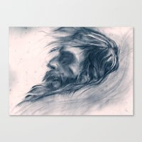 john snow Canvas Prints featuring Snow Angel by Kent St. John