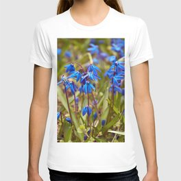 BLUE SOUND of SPRING T-shirt
