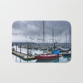 The Alaskan Small Red Boat Bath Mat