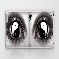 7 Eye Collection: Yin Yang In Your Eyes Laptop & iPad Skin