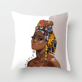 Rest of me Throw Pillow