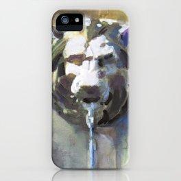 Lionhead Fountain iPhone Case