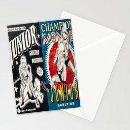 lunettes junior gaultier par jean vintage Poster Stationery Cards