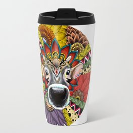 TRIBAL COW Travel Mug