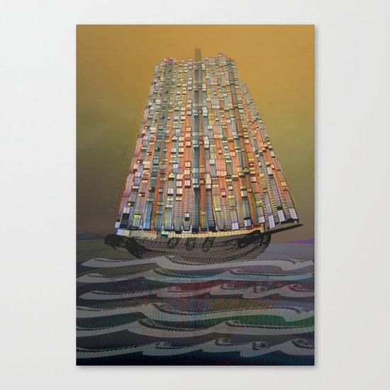 Atlante 14•5•16 Canvas Print